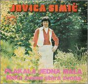 Jovca Simic -Diskografija Jovica_Simic_1976_Plakala_Jedna_Mala_Predn