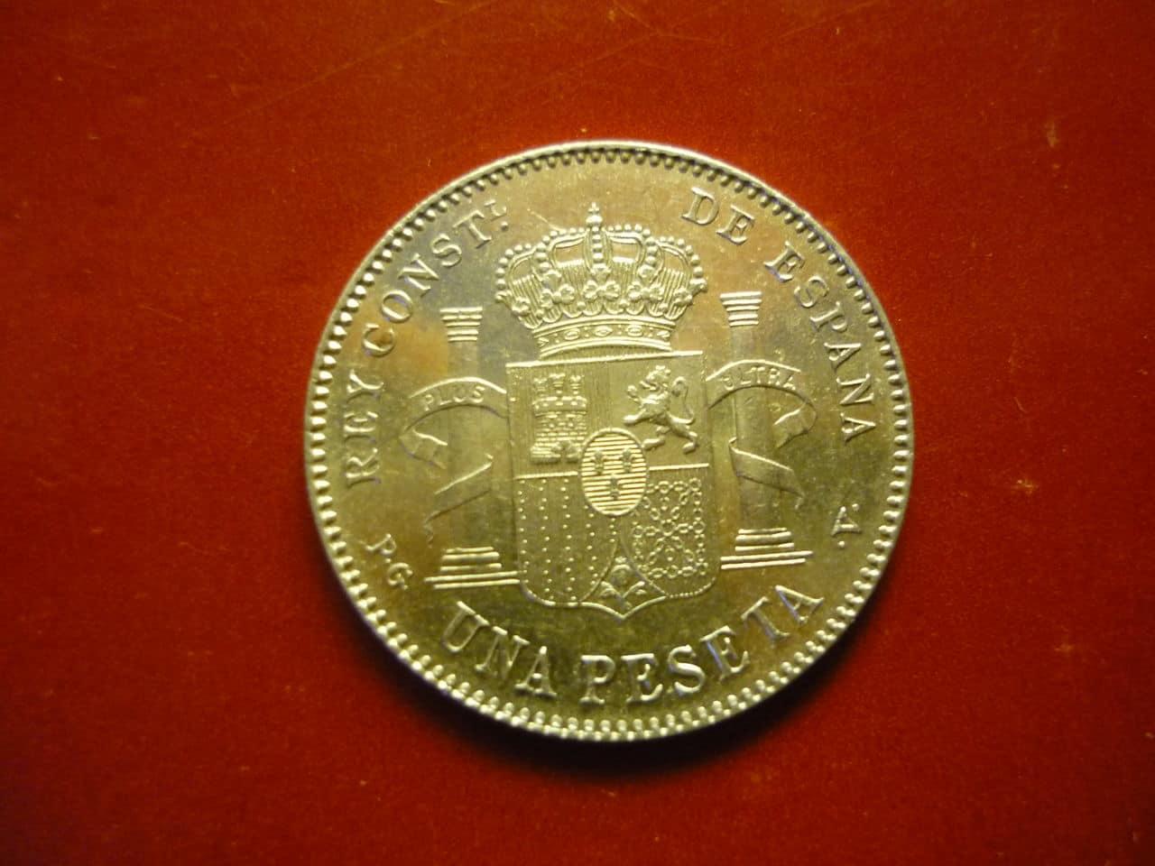 1 pta Alfonso XIII 1896 *18-96 PGV P1040239