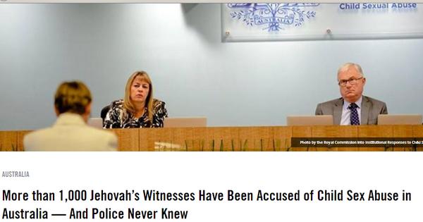Scandales de Témoins de Jéhovah Image