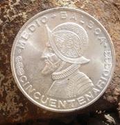 1/2 Balboa, Cincuentenario. Panama 1953 DSC022533333333333333