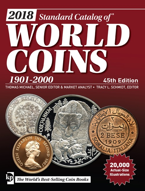 2018 Standard Catalog of World Coins 1901 - 2000 R4965