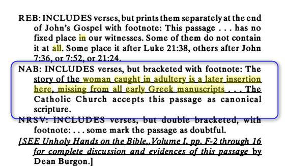 Scandale:Femme Adultère et Eglise Catholique Image