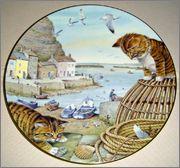Peter Barrett | Времена года и животный мир - Живопись на фарфоре 902185_580460115311095_1681642520_o