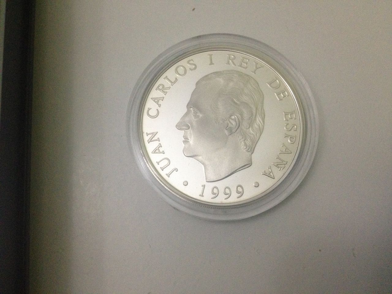 "2000 Pesetas 1999 Juan carlos I, Conmemorativa ""750 Anys de Govern Municipal"" IMG_2211"