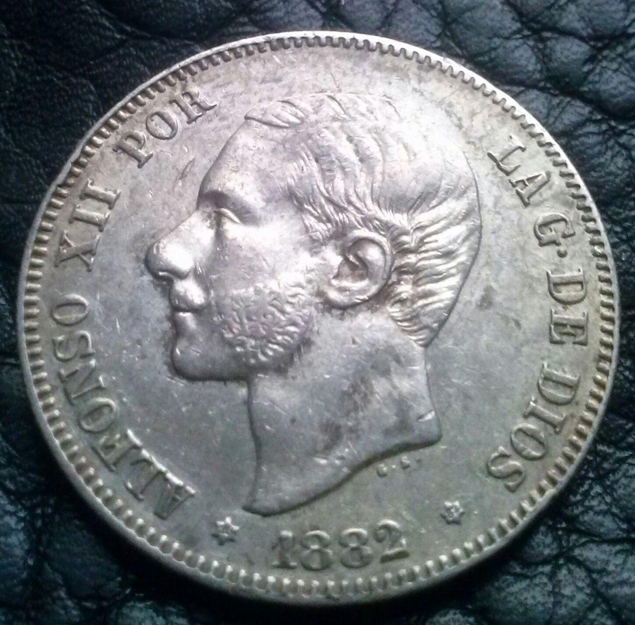 2 pesetas 1882 MSM,Alfonso XII CAM00824_1