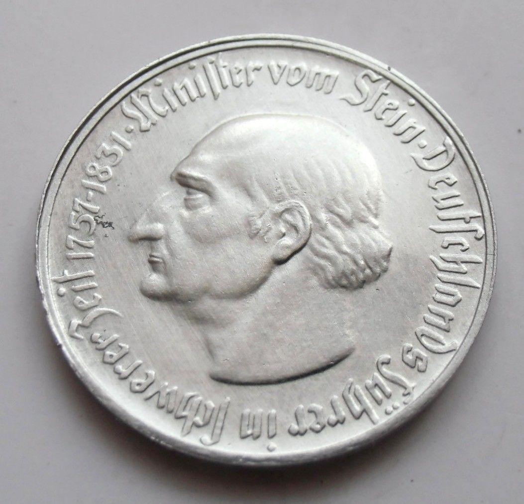 Monedas de emergencia emitidas por el banco regional de Westphalia 1923_250a