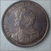 1000 Reis 1898 Carlos I y Amelia reyes de Portugal  Image