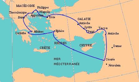 Dracma de Apolonia, Iliria. 50 a. C. Estudio. Segundoviaje_de_Pablo