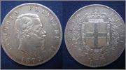 5 Lira. Vittorio Emanuele II. Italia. 1873. Milán 5_LIRA_VITORIO_ENM_II_1875