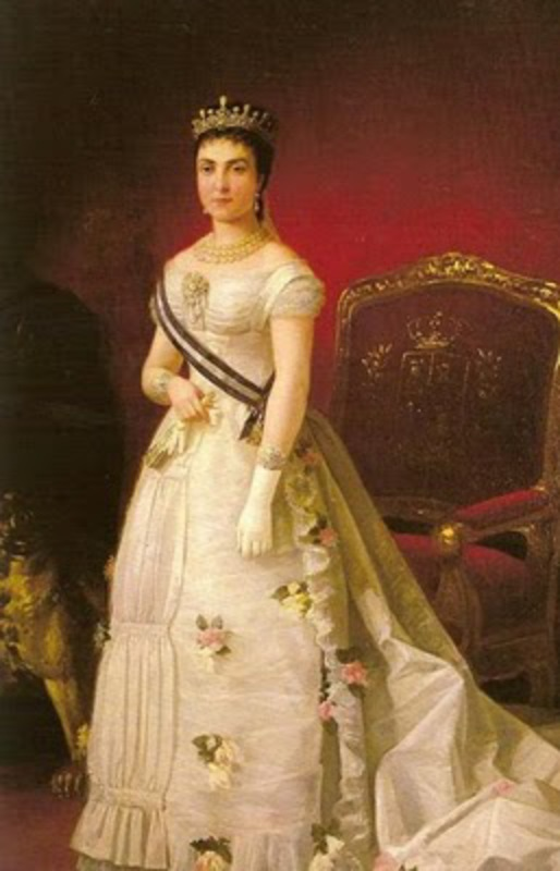10 Centimos 1878 Alfonso XII Mercedes_de_Orleans_su_primer_esposa