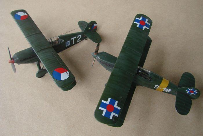 Avia B-534 serieIV., KP i RSmodels, 1/72 DSC00160