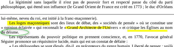Déisme Et Franc-maçonnerie Image