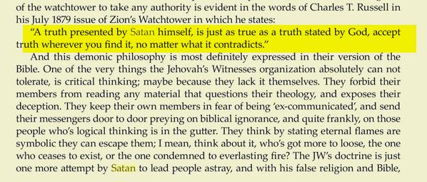 Les Absurdités du christianisme des Témoins de jéhovah Eeeee
