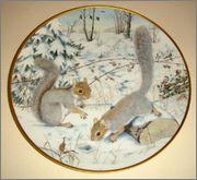 Peter Barrett | Времена года и животный мир - Живопись на фарфоре 882481_580460108644429_887108435_o