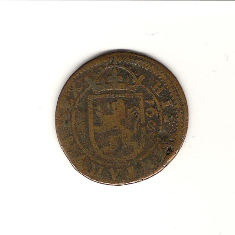 8 maravedís de Felipe III año 1606 Image