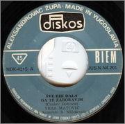 Vera Matovic - Diskografija 1974_za