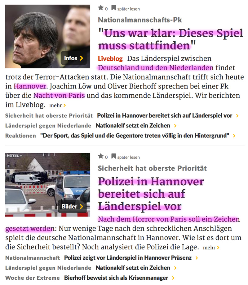 Explosion und Schießerei in Paris! - Seite 2 Hannover