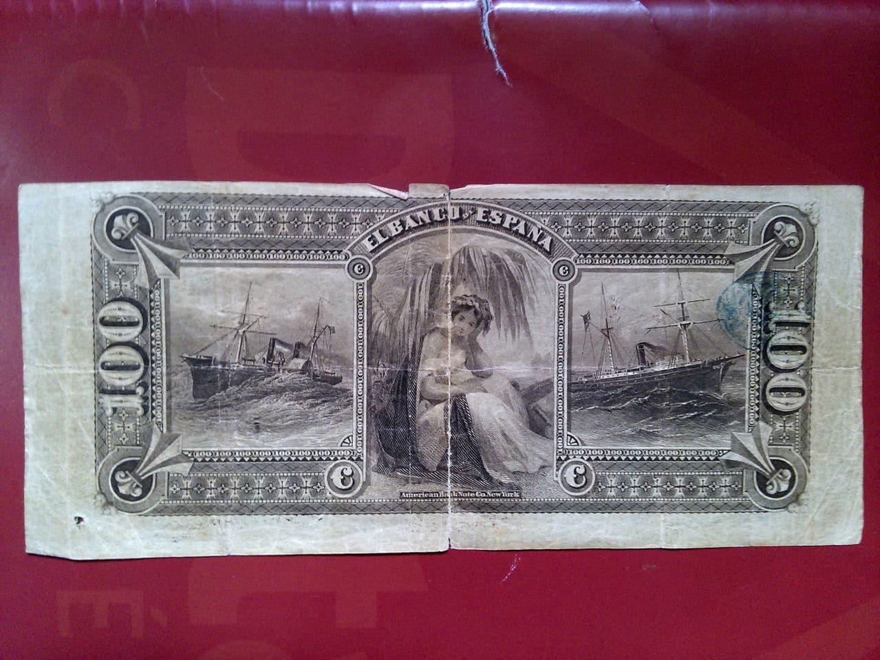 100 Pesetas 1876 Billete_2