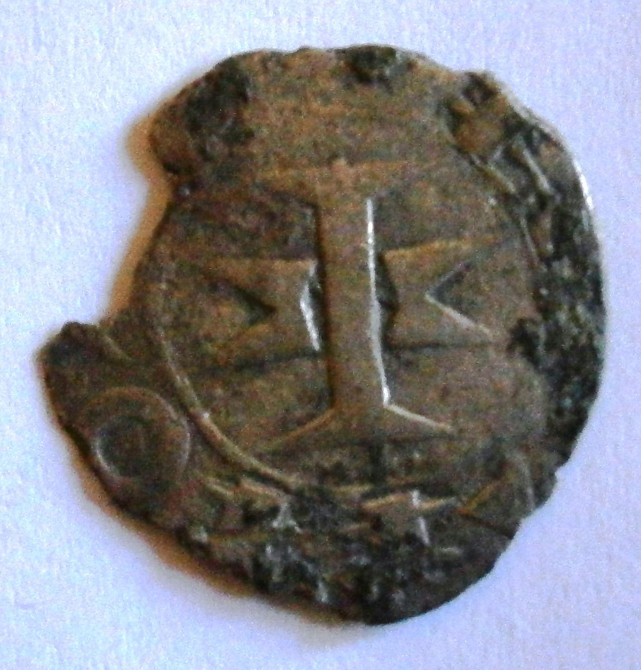 Dinero Melgorés de Montpellier. (Siglos XII-XIV). P1010003