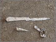 Nekaj primerov očiščenega železa s pomočjo elektrolize Restavriranje_arheolo_kega_eleza_restavriranje