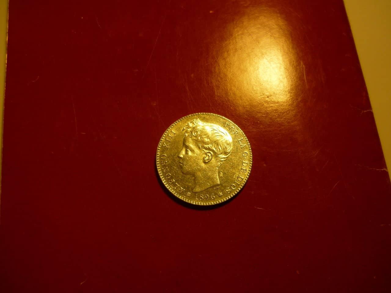 1 pta Alfonso XIII 1896 *18-96 PGV P1040226