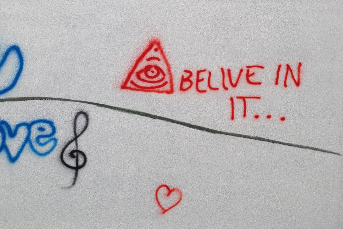 Symbolik im Allgemeinen und im weiteren Sinne Believe_02