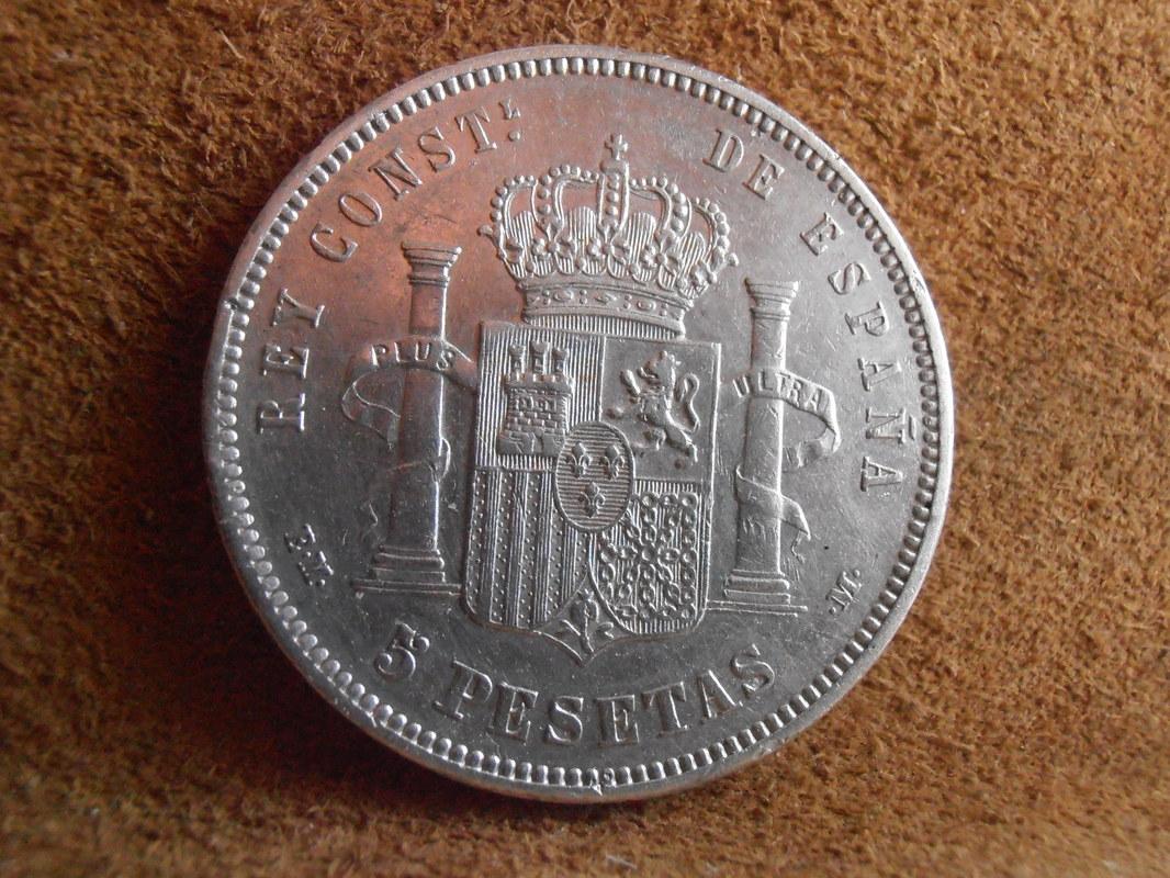 5 Pesetas 1878. Alfonso XII. EMM P3280006