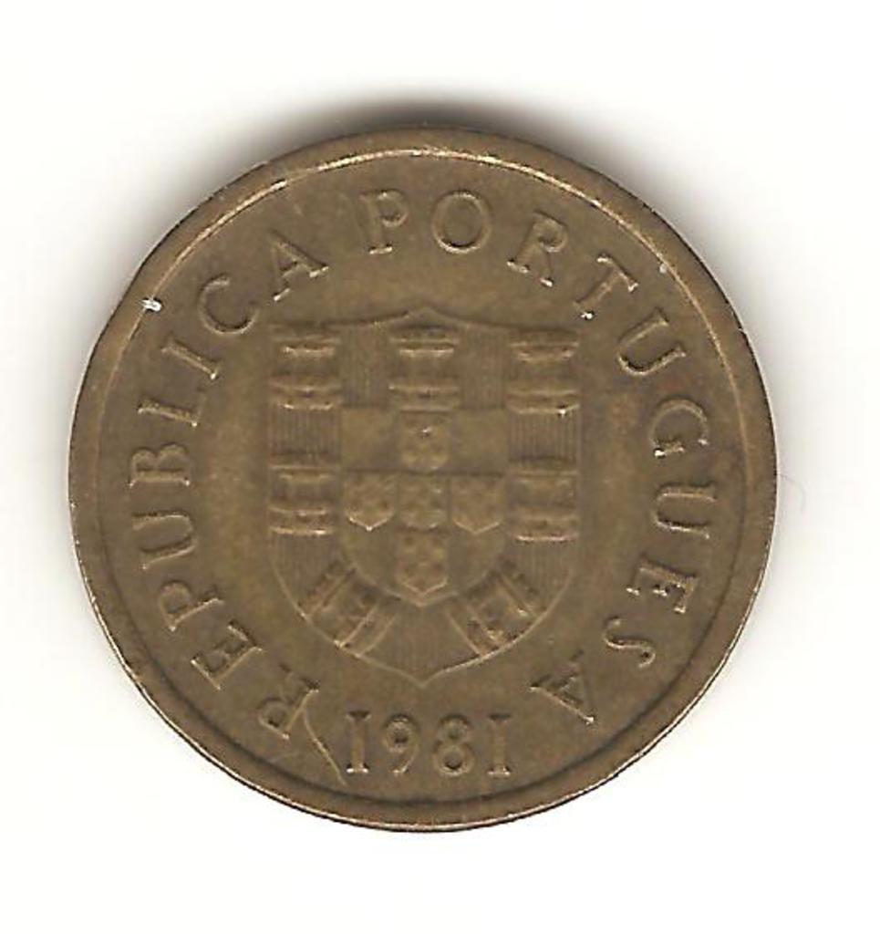 1 escudo de Portugal año 1981 Image