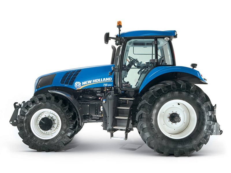 NOVEDADES TRACTORES 2016 New_Holland_T8_410_AC