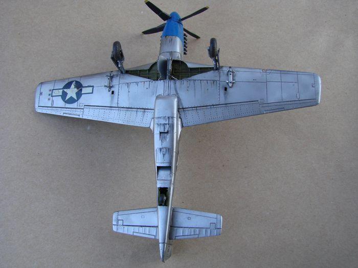 Mustang x2 P-51B Revell & P-51D Tamiya, 1/72 DSC09774