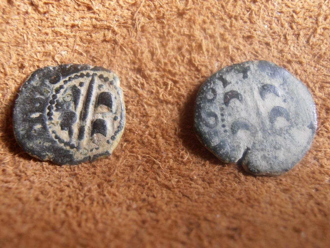 dinero   Carlos II CECA de VALENCIA P2140031