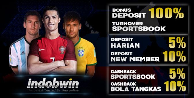 INDOBWIN - Agen Bola, Judi Bola Online, Casino Online Terbesar di Indonesia dan Terpercaya Sejak Tahun 2010 All_bonus_3