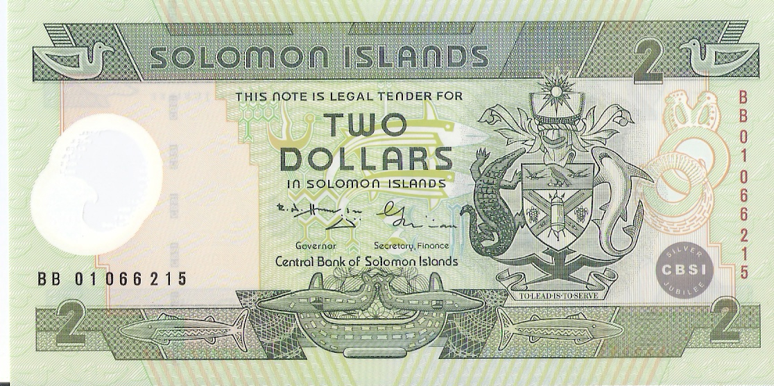 2 Dolares Islas Salomon, 2001 Escanear0016