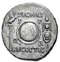 Glosario de monedas romanas. ENSEÑAS- Image