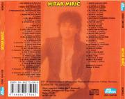Mitar Miric - Diskos zvezde Mitar_Miric_2007_CD_Zadnja