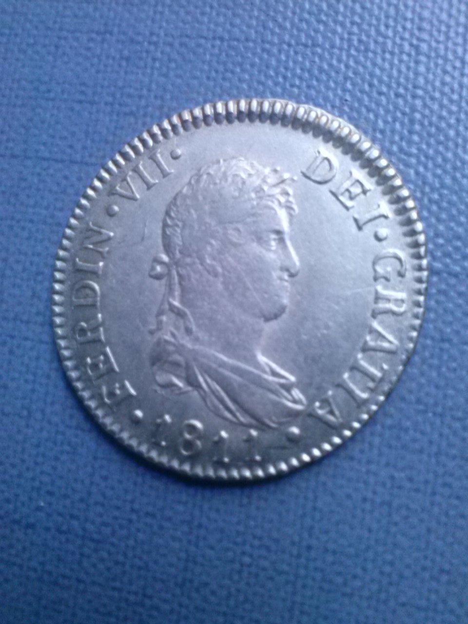 2 reales 1811 F VII Cadiz CAM00449