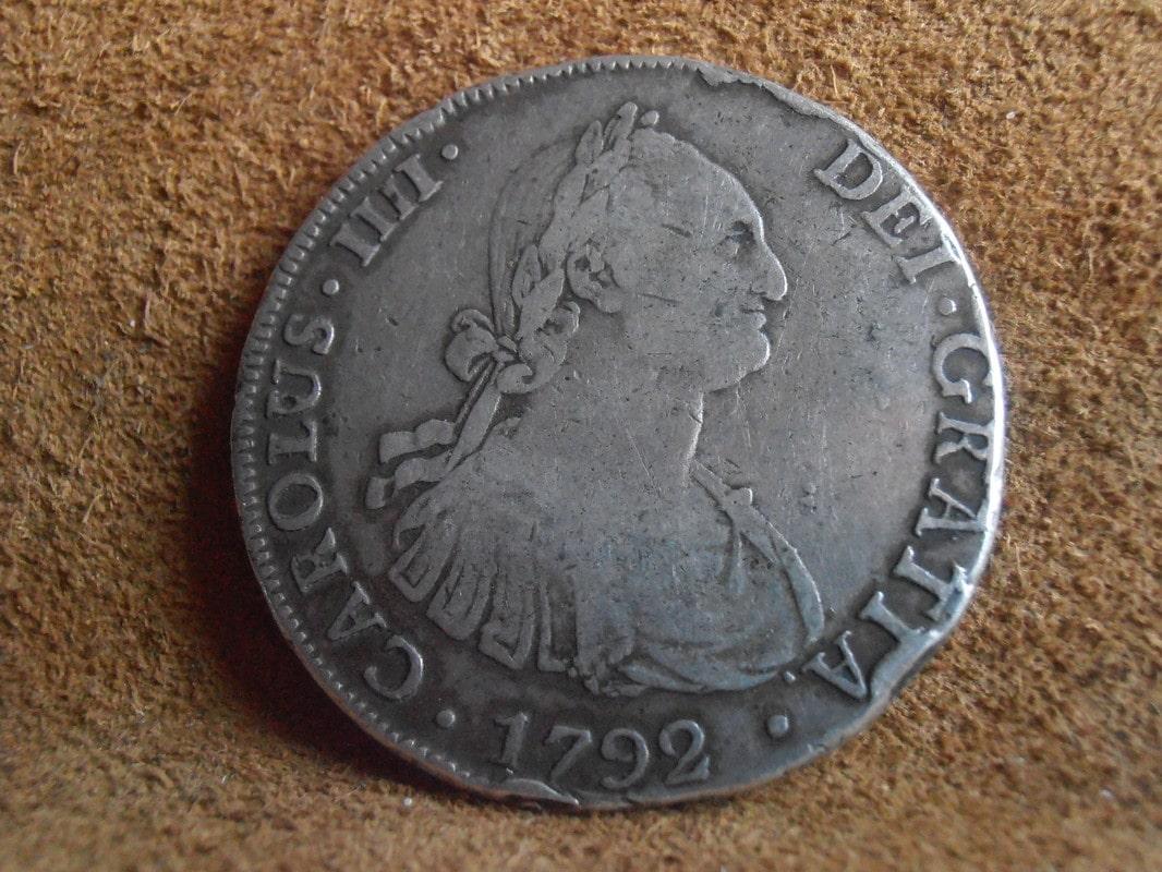 8 Reales 1792. Carlos IV. 1792 P5258603