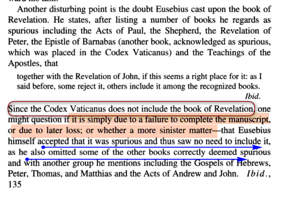 Codex Vaticanus Apocalypse 6.6.6 islam blabla Ssss