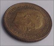 1 PESETA 1953 (*19-61). ESTADO ESPAÑOL Image