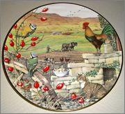 Peter Barrett | Времена года и животный мир - Живопись на фарфоре 892204_580459975311109_1570523115_o