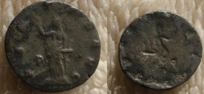 Antoniniano incuso de reverso de Salonina Image