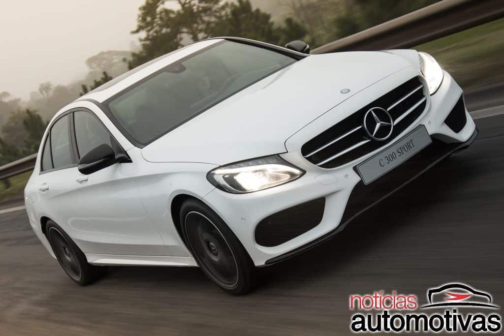 Classe C 300 Sport estreia como versão topo de linha por R$ 241,9 mil Mercedes-benz-c-300-sport-2018-11