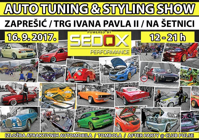 16.9.2017. - 4.Auto tuning & styling show powered by Sedox Performance @ Zaprešić Flyer