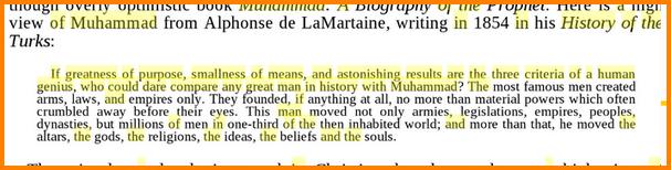 Que disent- ils sur Mahomet Aaaaaaaa