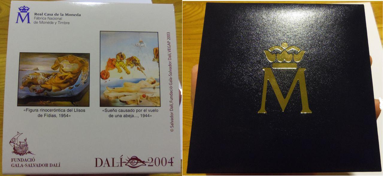 50 Euros. Juan Carlos I. Centenario Dalí 2004. Madrid. 2003. IMGP4456