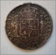 8 Reales 1812 Fernando VII ,guerra de la independencia ,Chihuahua RP (fundido) Image