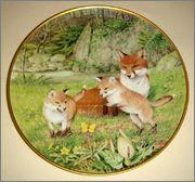 Peter Barrett | Времена года и животный мир - Живопись на фарфоре 883146_580460065311100_633577435_o