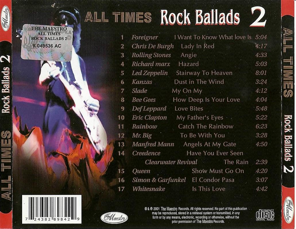VA-All Times Rock Balads FLAC Rock_Ballads_2_Cover_Back
