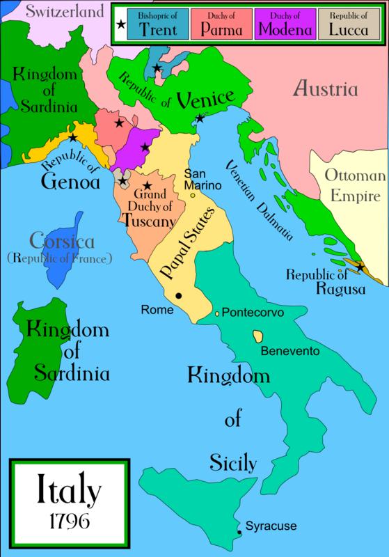 5 Soldi 1815/3 Ducado de Parma - Estados Italianos Italy_1796