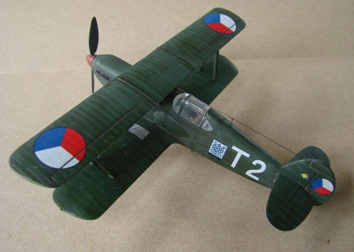 Avia B-534 serieIV., KP i RSmodels, 1/72 DSC00165